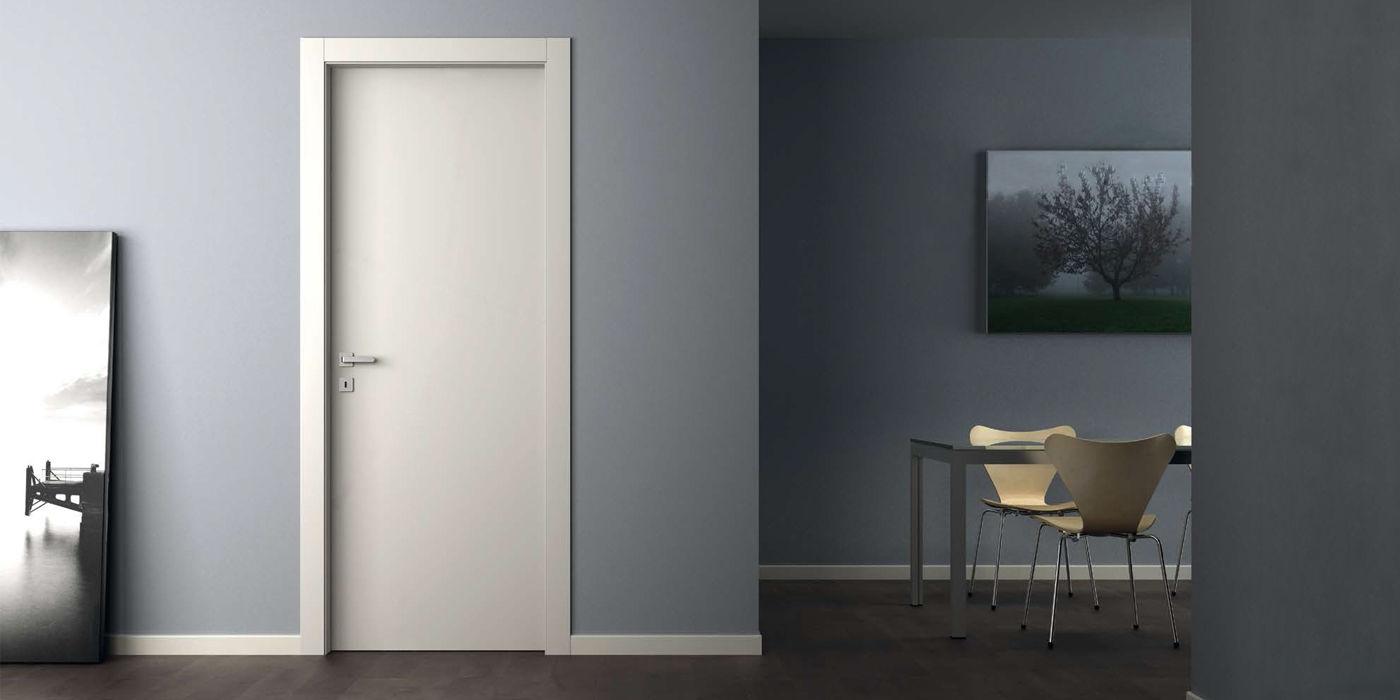 Porta A Libro Asimmetrica laccato - alba doors